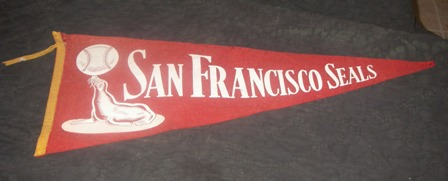San Francisco Seals Memorabilia